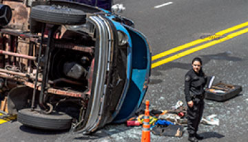 Mount Airy, NC – Fatal Accident Involving Pickup Truck and Logging Truck